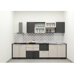 Cheveley Straight Kitchen with Laminate Finish
