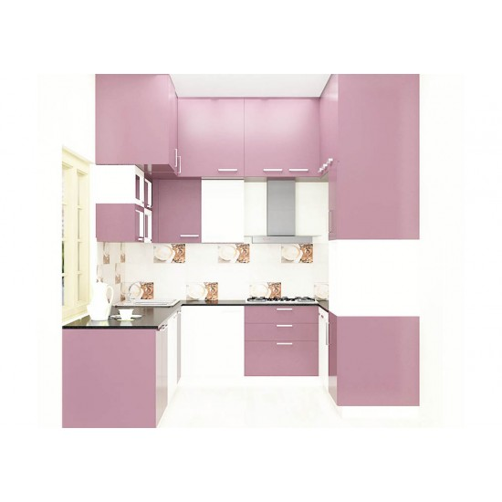 Rafael U - Shaped Kitchen with Laminate Finish