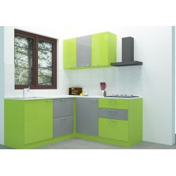 Bacton L - Shaped Kitchen with Laminate Finish