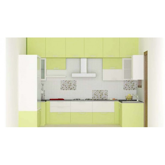 Dace U - Shaped Kitchen with Laminate Finish