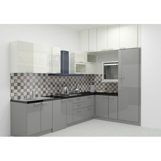 Kamsack L - Shaped Kitchen with Laminate Finish