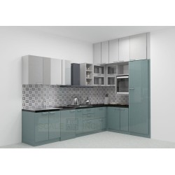 Moosomin L - Shaped Kitchen with Laminate Finish