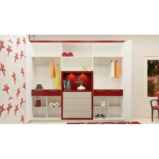 Daffodil Wardrobe with Laminate Finish