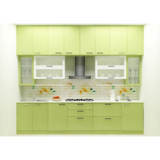 Allium Straight Kitchen with Laminate Finish
