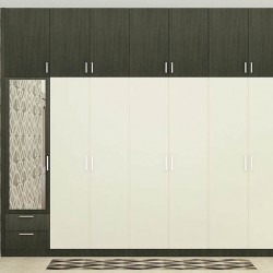 Creeping Zinnia Wardrobe with Laminate Finish