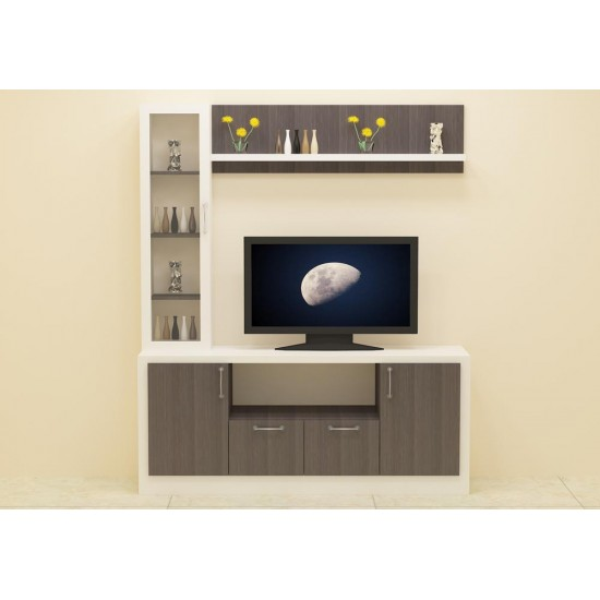 Splittail TV Unit with Laminate Finish
