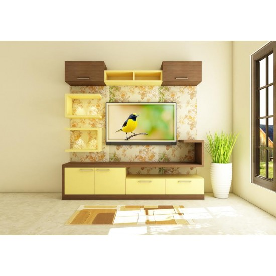Calonda TV Unit with Laminate Finish