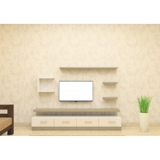 Chavuma TV Unit with Laminate Finish