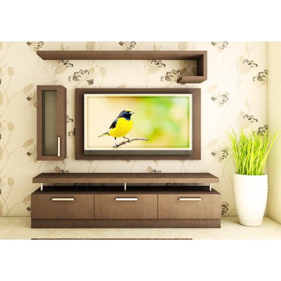 Cuvelai TV Unit with Laminate Finish