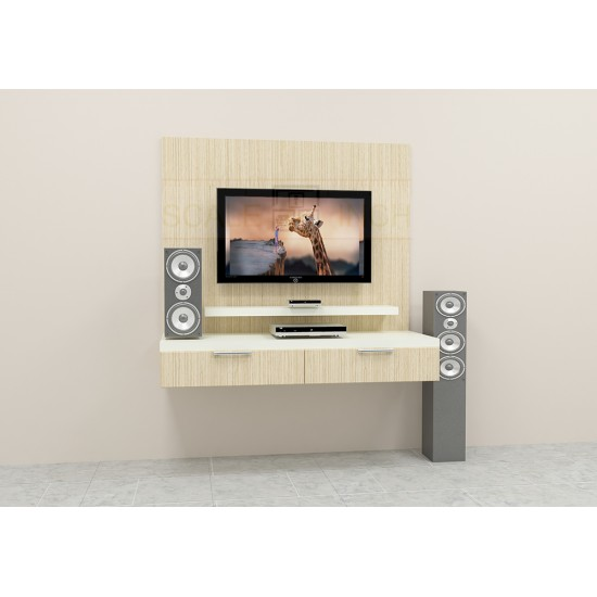 Olive TV Unit with Laminate Finish
