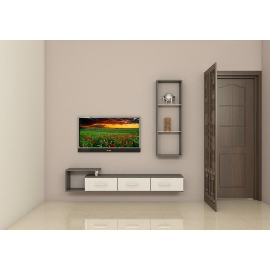 Rudd TV Unit with Laminate Finish