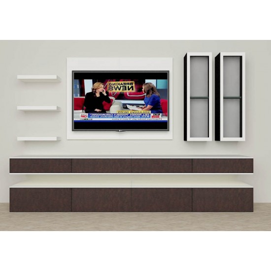 Bell Flower TV Unit with Laminate Finish