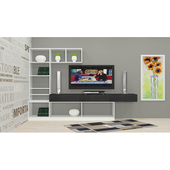 Black Eyed Susan TV Unit with Laminate Finish