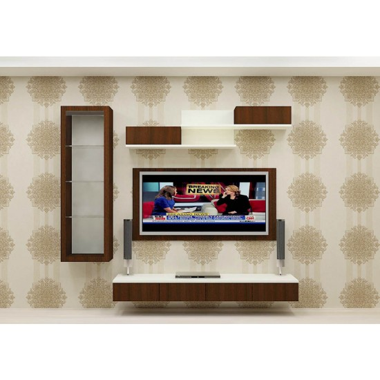 Bush Morning Glory TV Unit with Laminate Finish