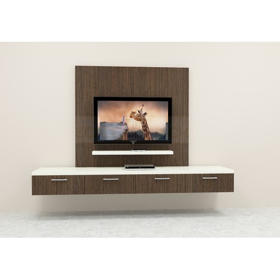 Plumcot TV Unit with Laminate Finish