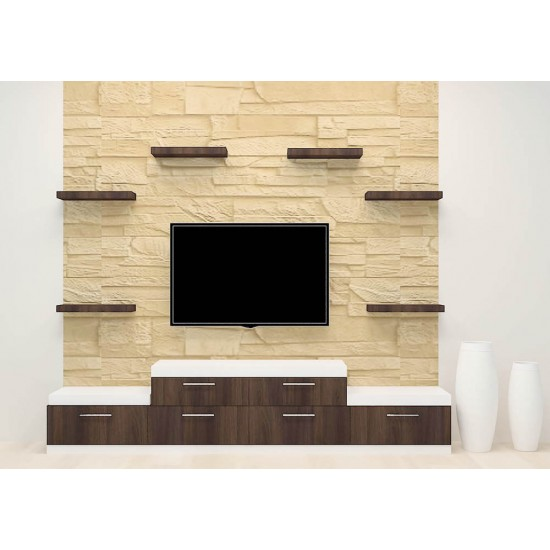 Sky Rocket TV Unit with Laminate Finish