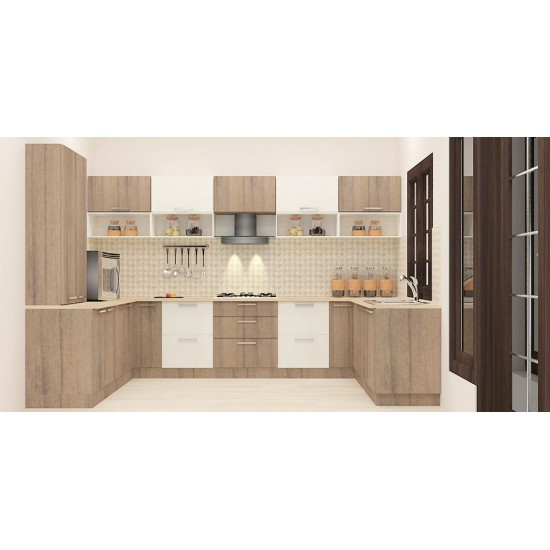 Ogeechee U - Shaped Kitchen with Laminate Finish