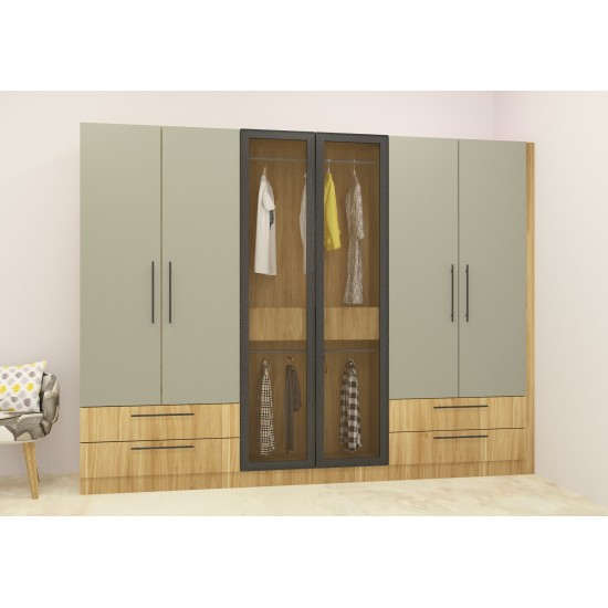 Calista Wardrobe with Laminate Finish