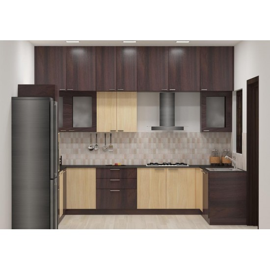 Catia U- Shaped Kitchen with Laminate Finish