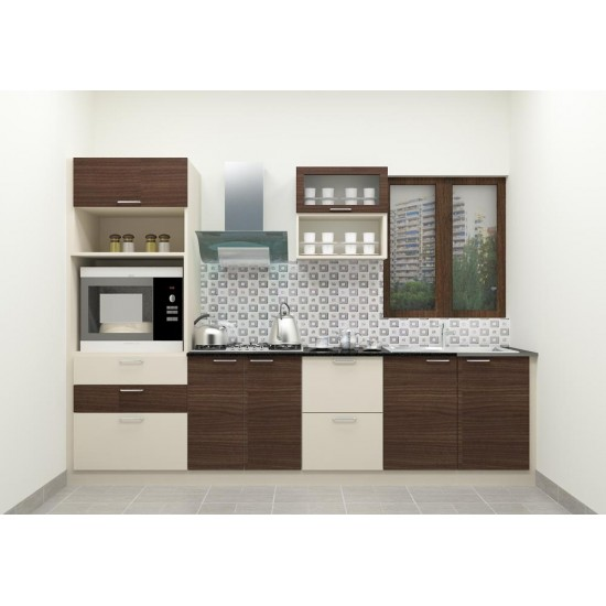Monsale Straight Kitchen with Laminate Finish
