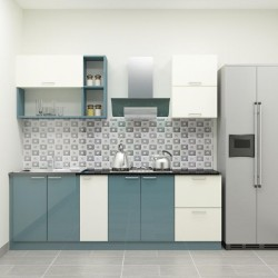 Odsey Straight Kitchen with Laminate Finish