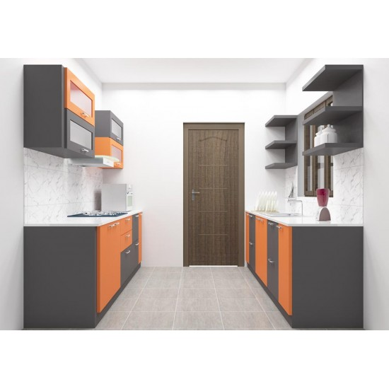 Marrakesh Parallel Kitchen with Laminate Finish