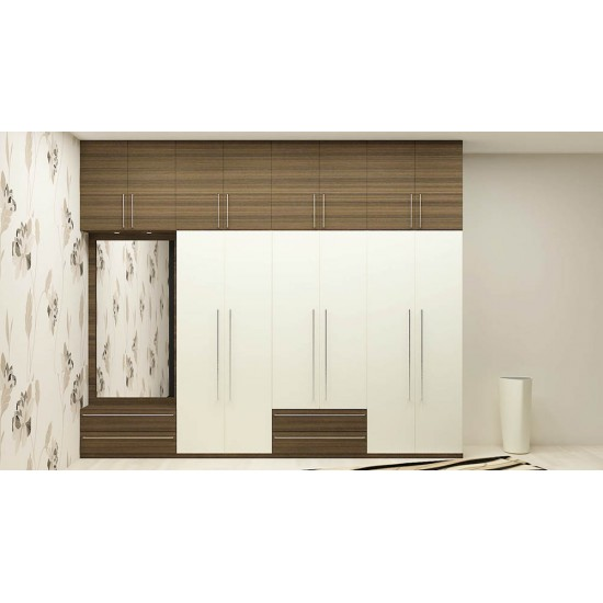 Daylily Wardrobe with Laminate Finish