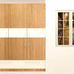 Chub Wardrobe with Laminate Finish