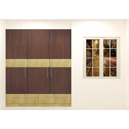 Cichild Wardrobe with Laminate Finish