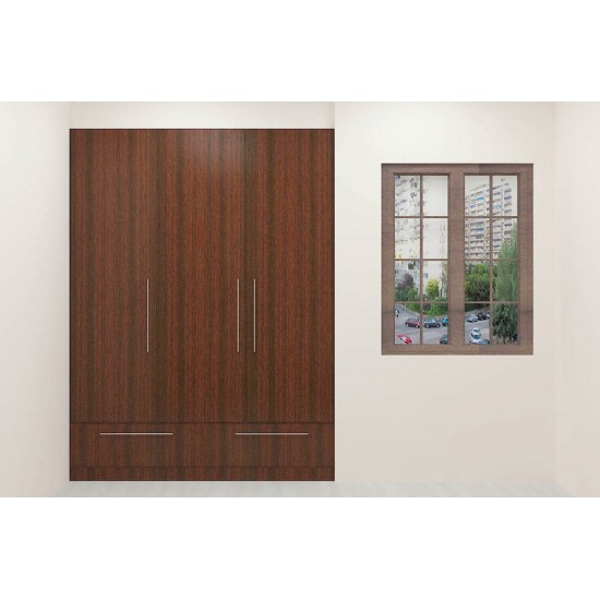 Trampas Wardrobe with Laminate Finish